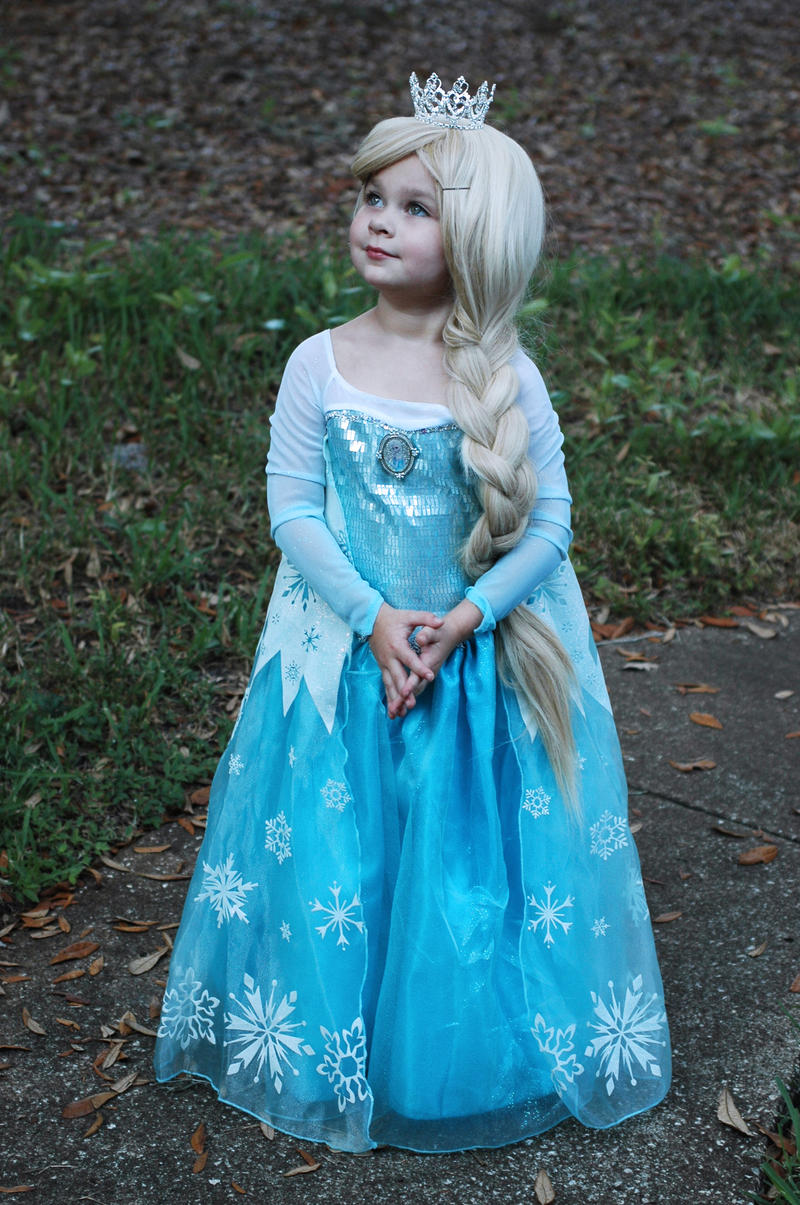 Эльза костюм для девочки своими руками