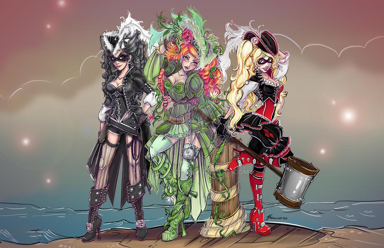 Villainous Pirate Sirens by NoFlutter
