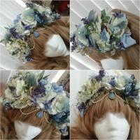 Periwinkle Custom Flower Crown