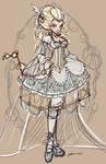 Rocopunk Cinderella Sketch