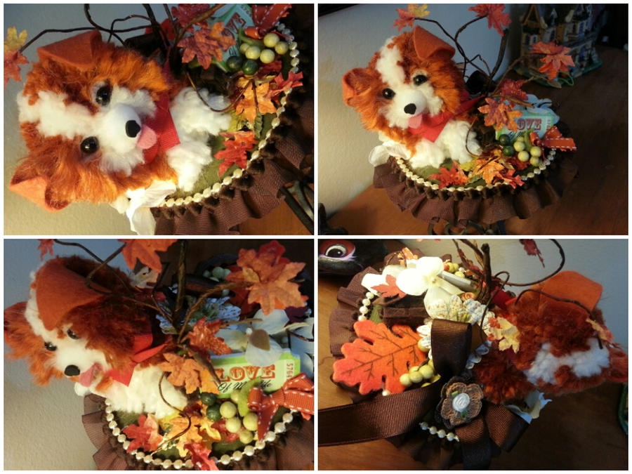 Fall Puppy by NoFlutter