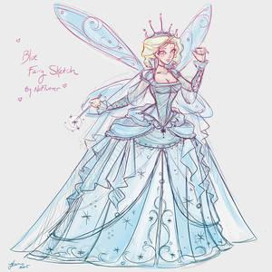 Blue Fairy Sketch