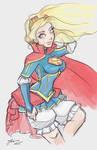 Super Girl Sketch