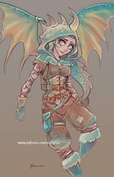 Stormfly Sketch