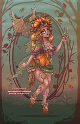 Fall Fairy by NoFlutter