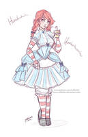 Smug Wendy Sketch
