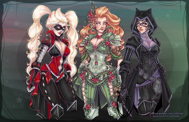 Gotham Fantasy Sirens by NoFlutter