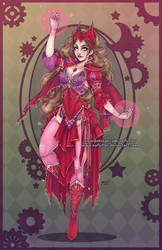 Scarlet Witch by NoFlutter