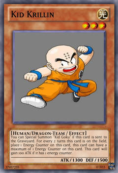Kid Krillin Dragon Ball Yu-Gi-Oh! card