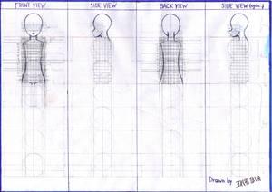 Anime Girl Body Base (WIP)