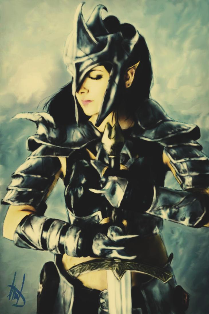 Steel Warrior by Gabrielnotsuki