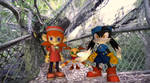 More Klonoa and Friends at Discovery Island! by Fyrekobra