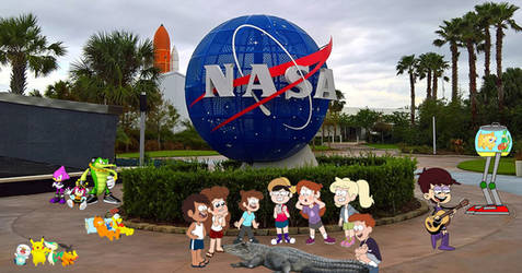 Kennedy Space Center Toons!