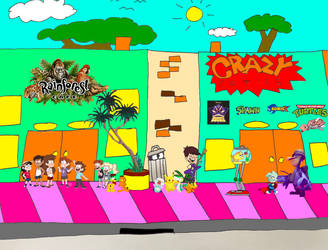 Tooniverse Street! by Fyrekobra