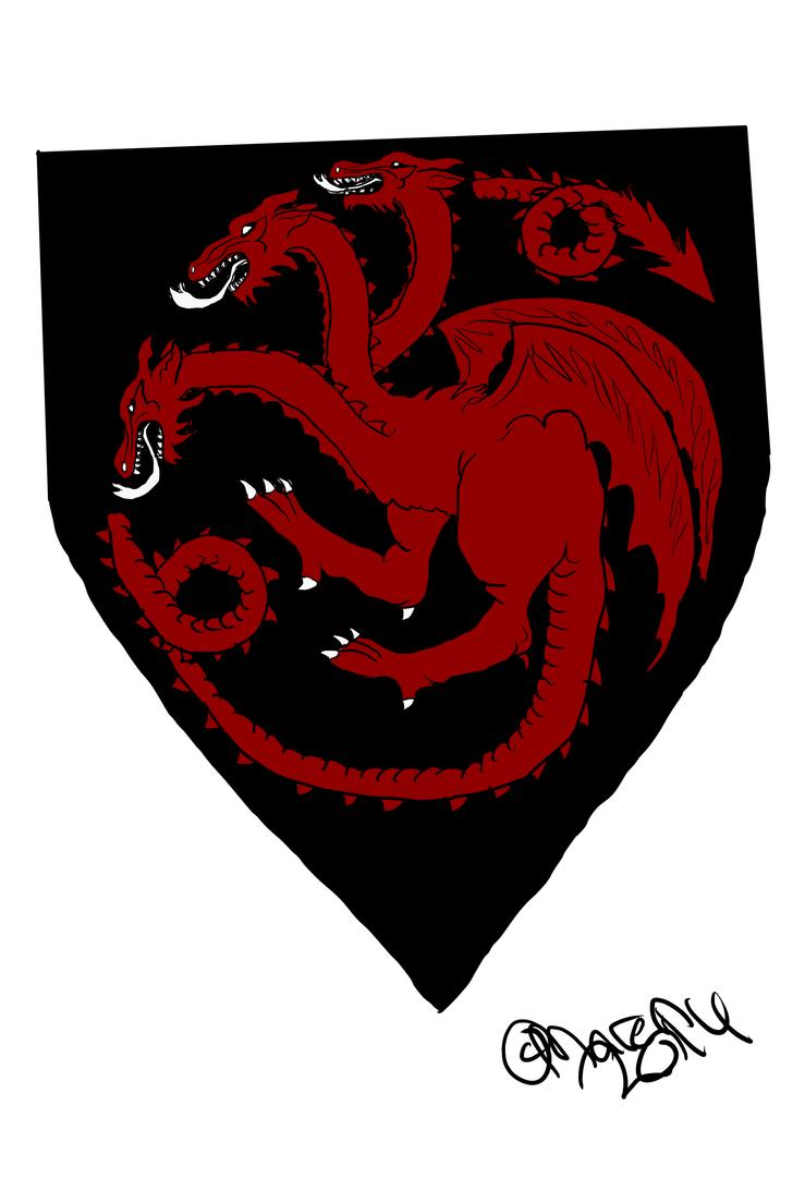 House Targaryen by CaprySonne