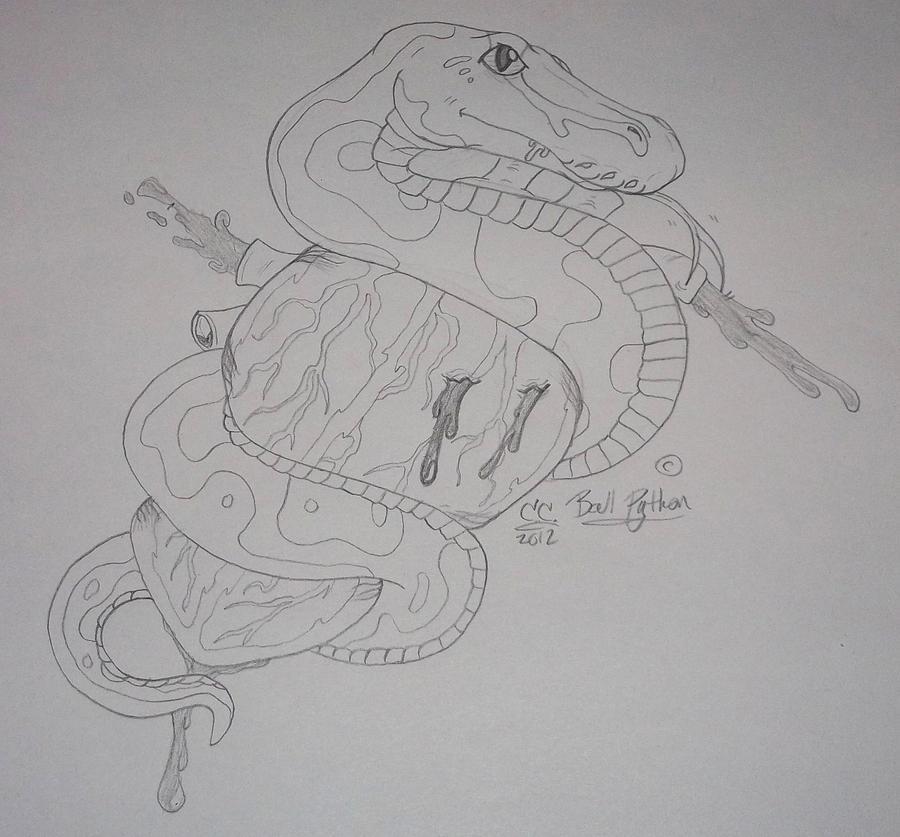 snake heart tattoo idea by caitybee on deviantart. Black Bedroom Furniture Sets. Home Design Ideas