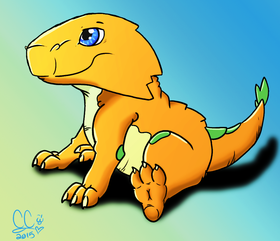 Baby Dragon (Yellow) by Caitybee