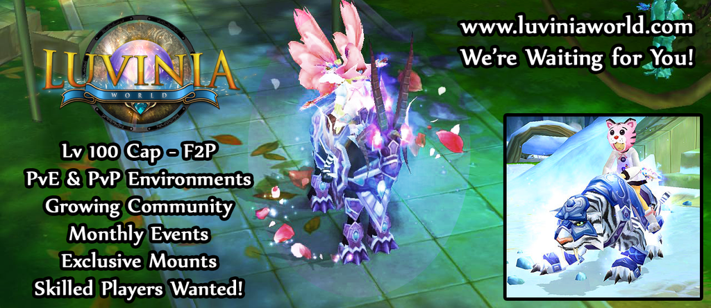 Luvinia World Advertisement Banner by Caitybee