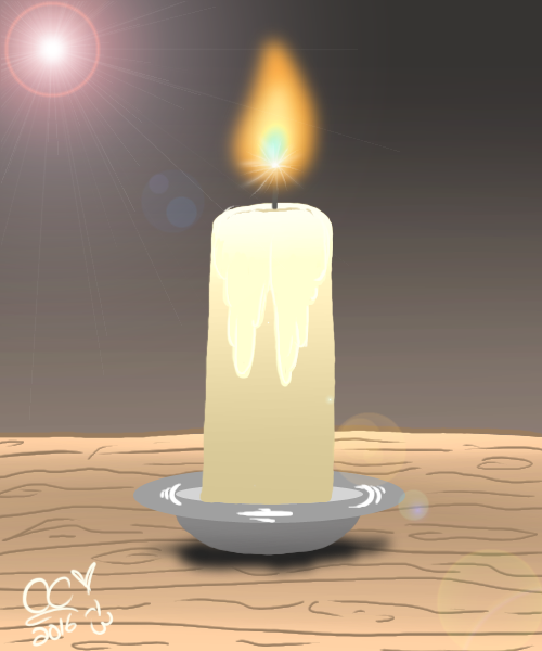 The Candle by Caitybee