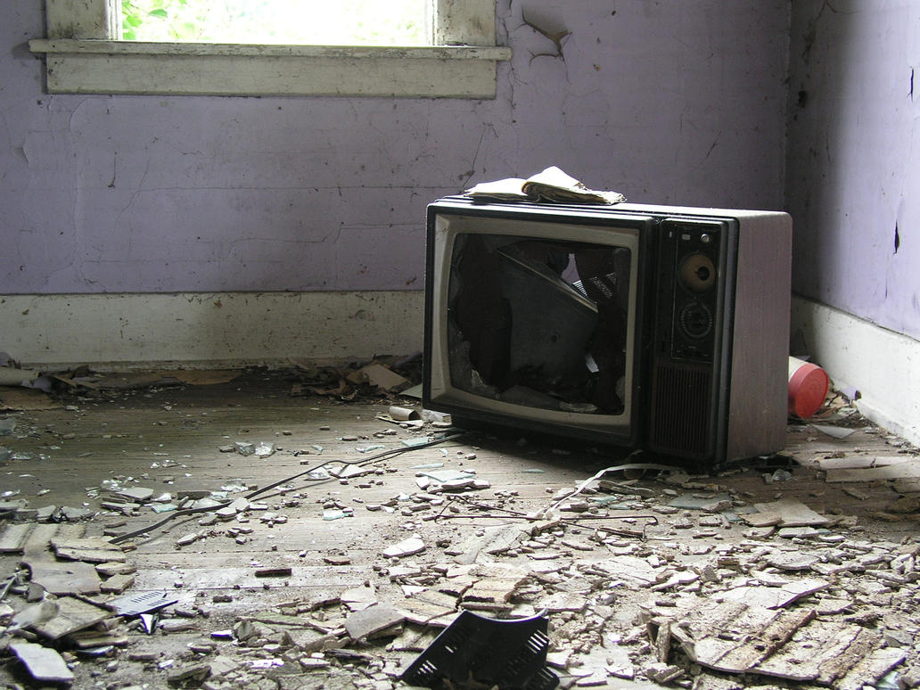 S.S. Broken TV by ~shudder-stock