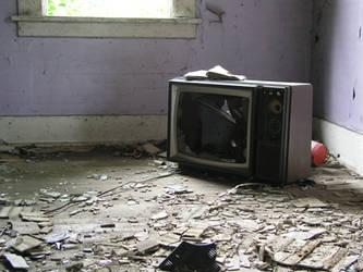 S.S. Broken TV by shudder-stock