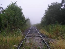 S.S. Foggy Tracks by shudder-stock
