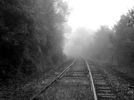S.S. Foggy Tracks 2 by shudder-stock