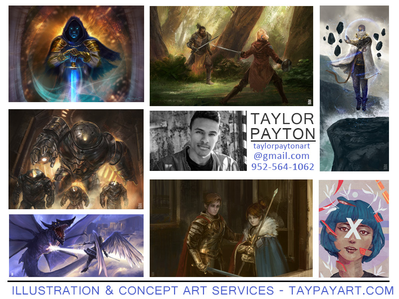 Available for Commissions - Contact for Rates! by Taylor-payton