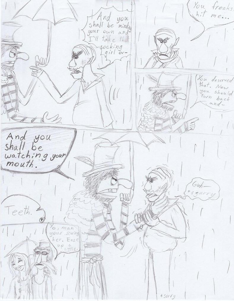 Electric Mayhem The beginning pg 5 by TeriyakiOxO