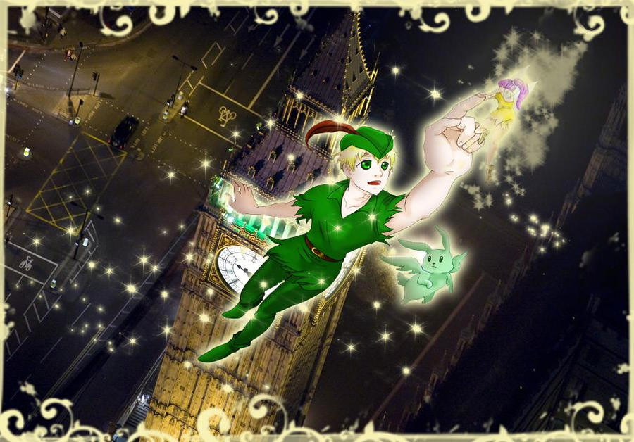 aph peter pan england by ladycat93