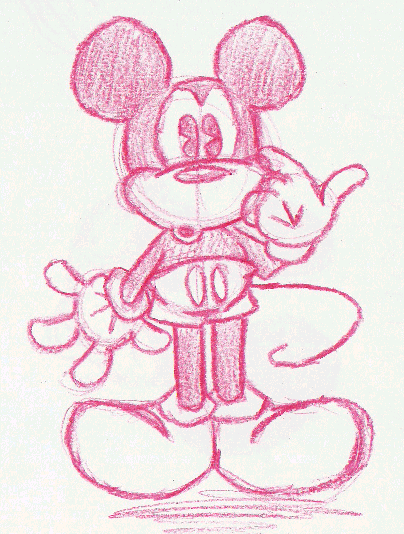 Mickey Mouse by Purp1eDragon