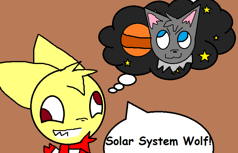 Solar System Wolf by MienfooInTraining