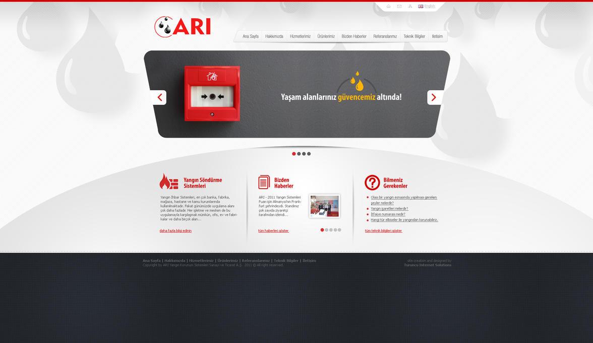 Ari Yangin Web Design 2 by ThanRi