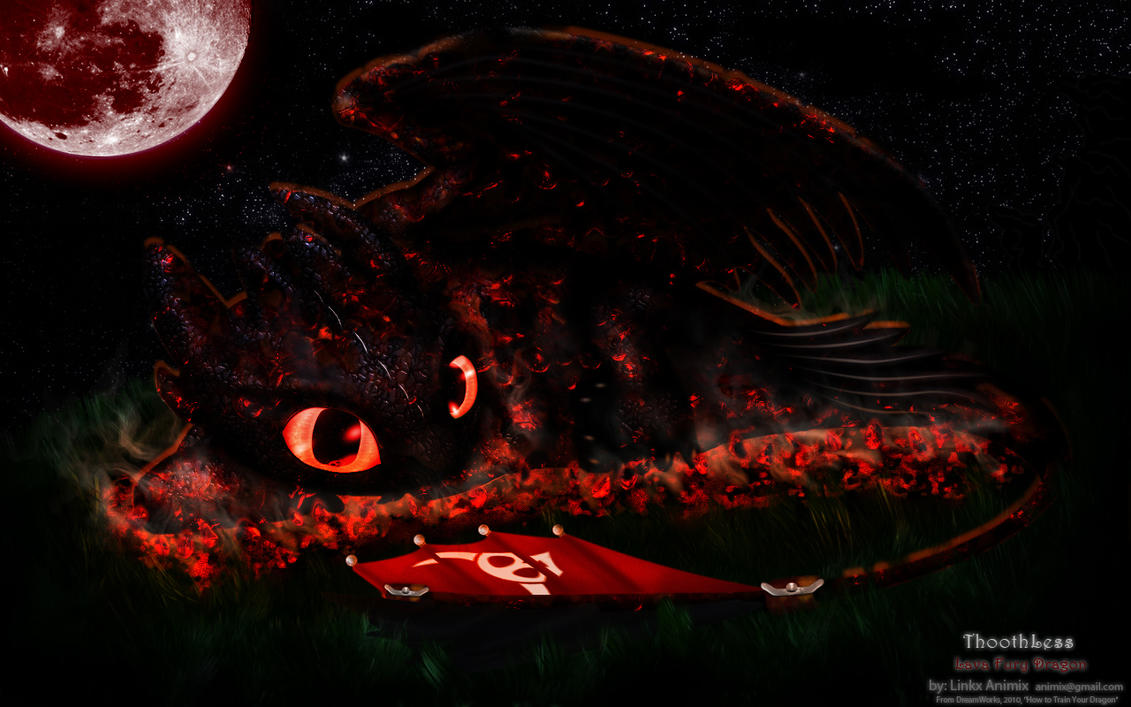 Msi wallpapers and background - Night Lava Dragon By Linkx Wemic On Deviantart