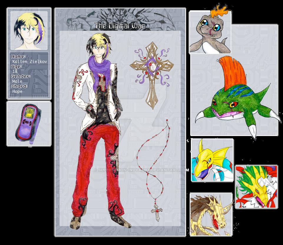 DW: .:Kallen Zielkov Final App Sheet:. By Superdemon