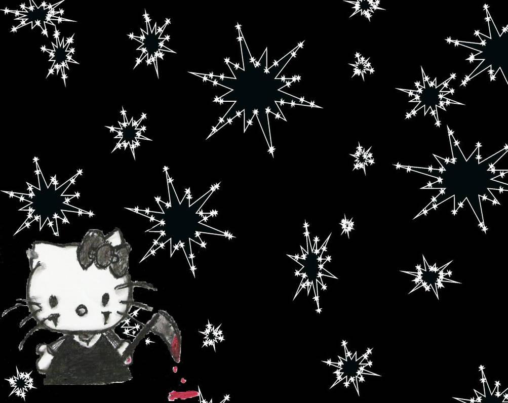 Killer Hello Kitty Wallpaper By Mirthlesstorment On Deviantart