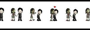 Zombies need love.