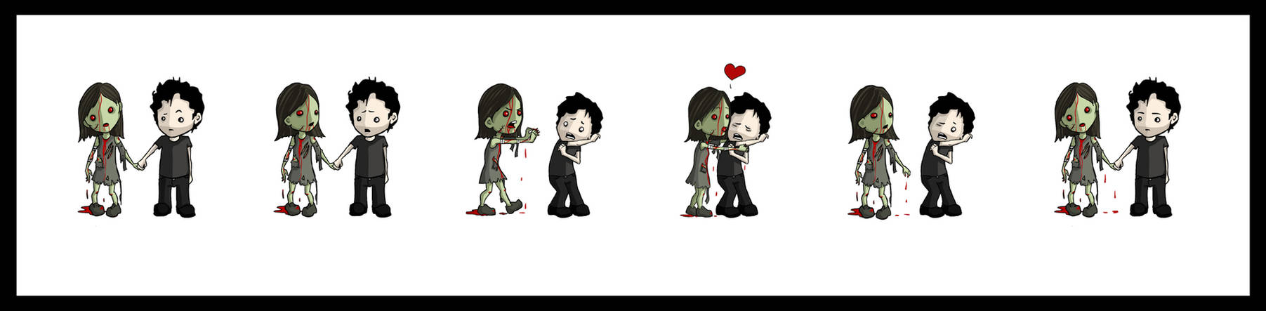 Zombies need love.
