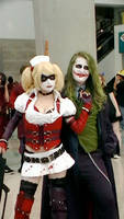 Joker and his assistant