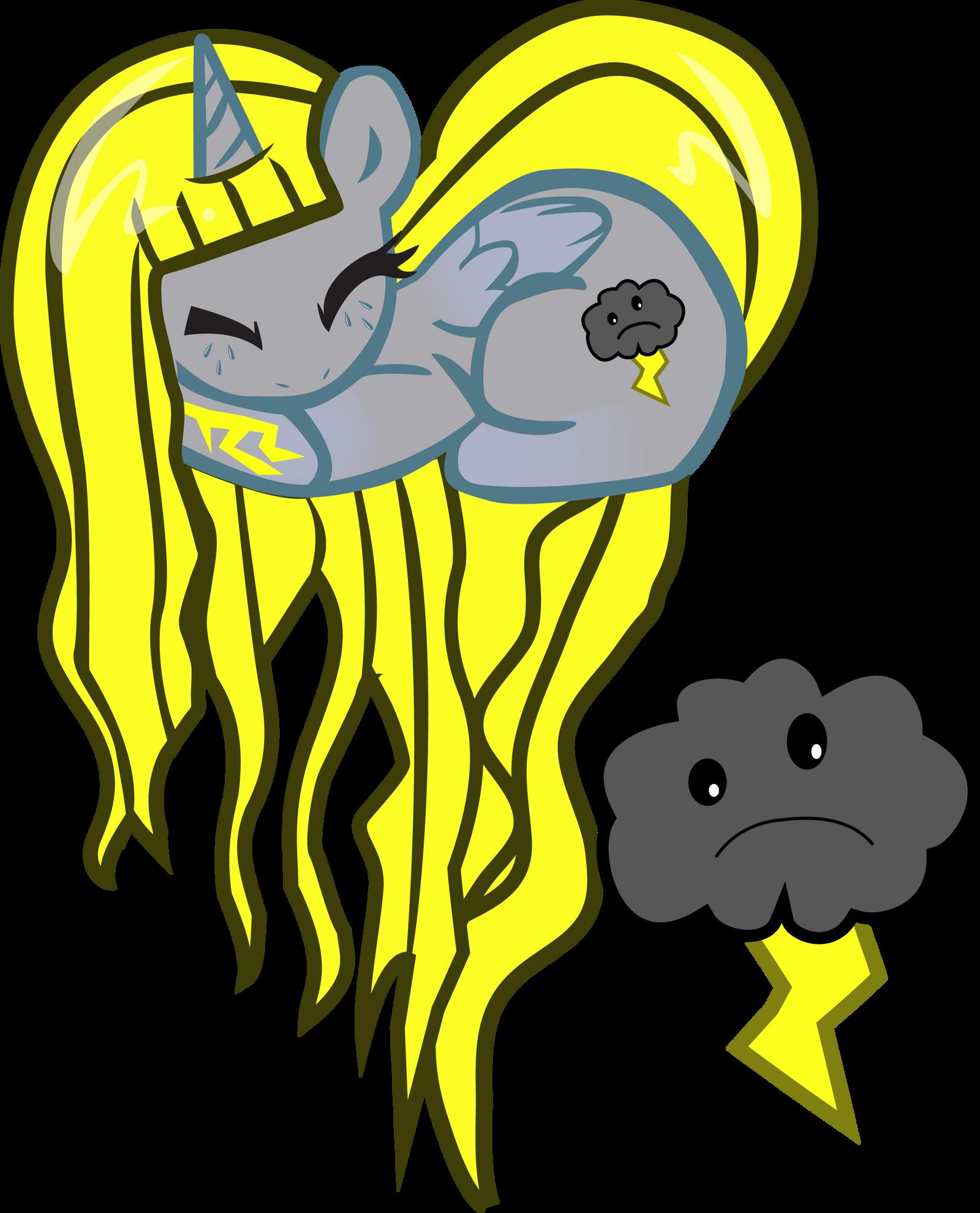 Zephyro OC Heart Pony by pyrestriker