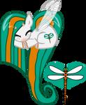 DamselFly OC Heart Pony