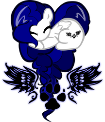 Aura OC Heart Pony by pyrestriker