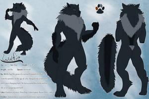 Wolfie the werewolf by meekakun