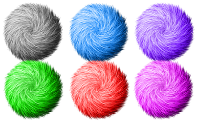 Custom Brush: Fur Test
