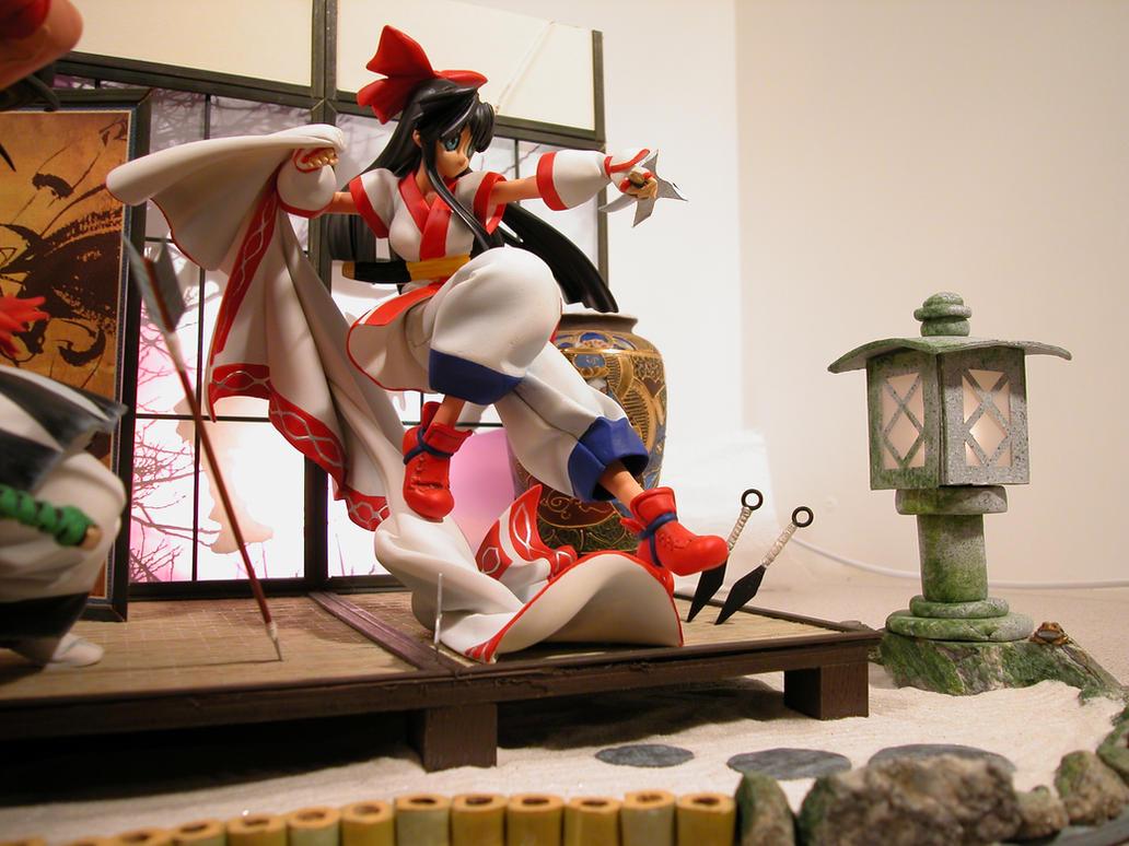 Samurai Spirits Diorama 05 by ogamitaicho