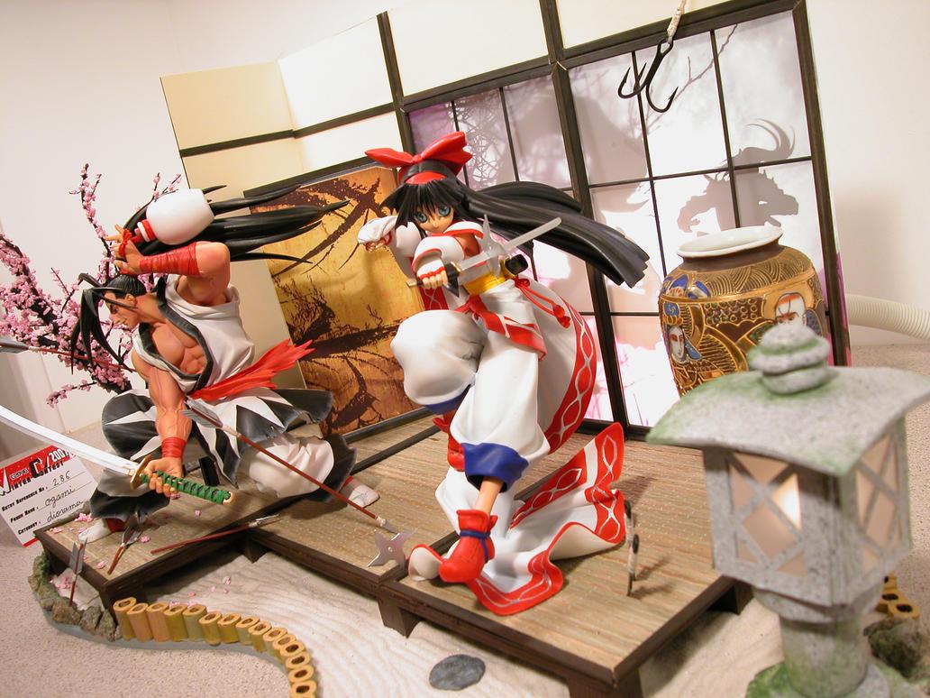 Samurai Spirits Diorama 06 by ogamitaicho