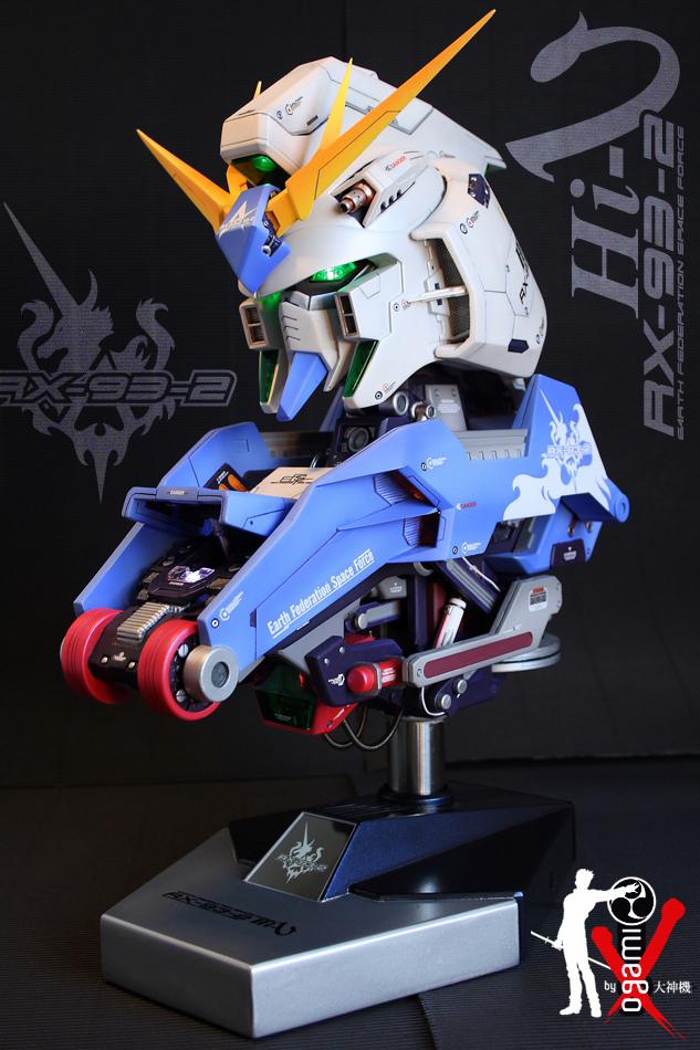 Gundam 1-24 RX-93 Hi-Nu Bust 2 by ogamitaicho
