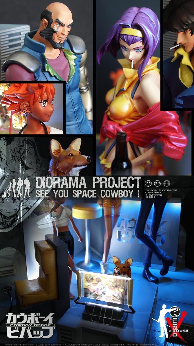 Cowboy Bebop Diorama 02 by ogamitaicho