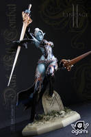 Dark Elf Combat 1 by ogamitaicho