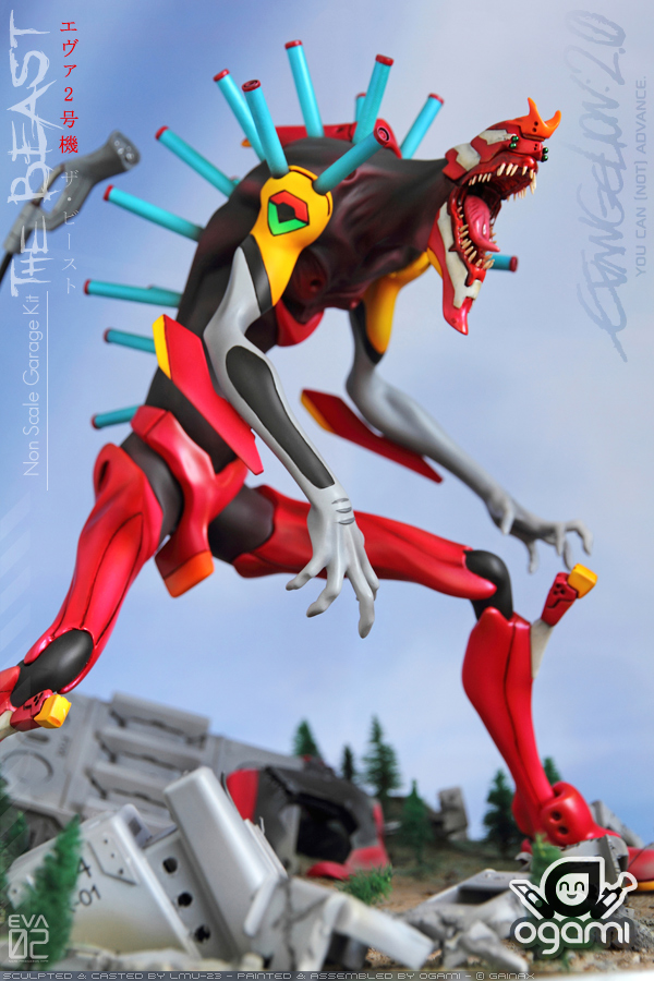 EVA-02 The Beast 01 by ogamitaicho